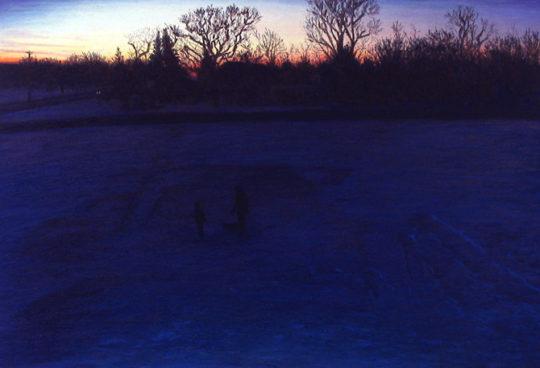 Evening Sledding